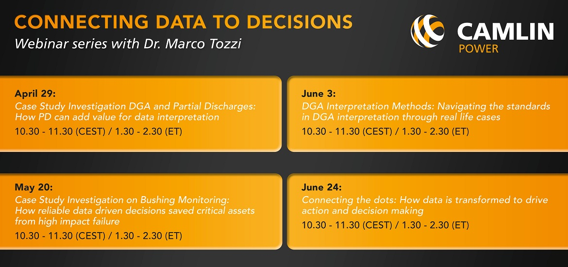 Case Study Investigation DGA and Partial Discharges: How PD can add value for data interpretation transformer technology webinar