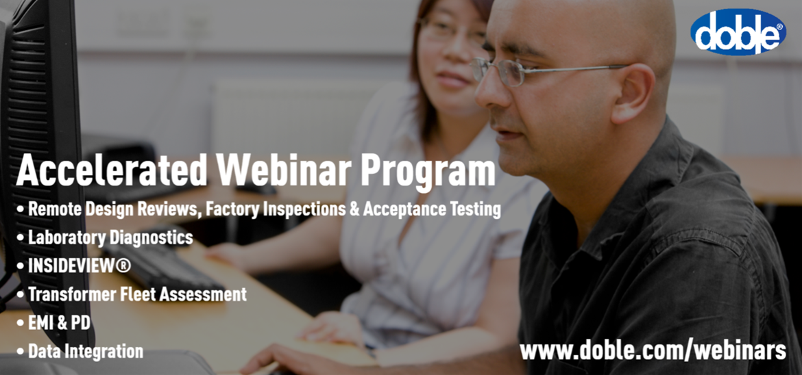 Accelerated Webinar Program – Remote and On-line Diagnostics and Services