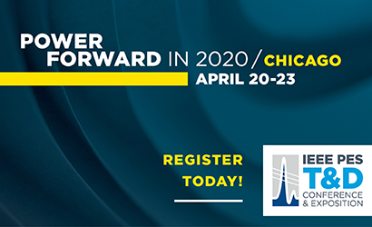 IEEE PES T&D Chicago April 2020 Rectangle