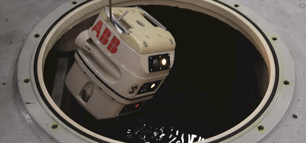 Mini submersible robot successfully inspects NYPA power transformer technology news abb