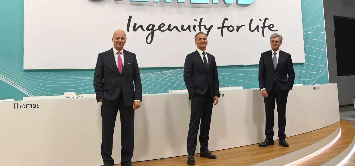 Spin-off of Siemens Energy approved by large majority of Siemens shareholders