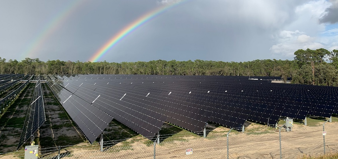 Construction is now complete on an all-new 270-acre, 52-megawatt solar facility built in collaboration with the Reedy Creek Improvement District and Origis Energy USA to provide clean renewable energy to Walt Disney World Resort.